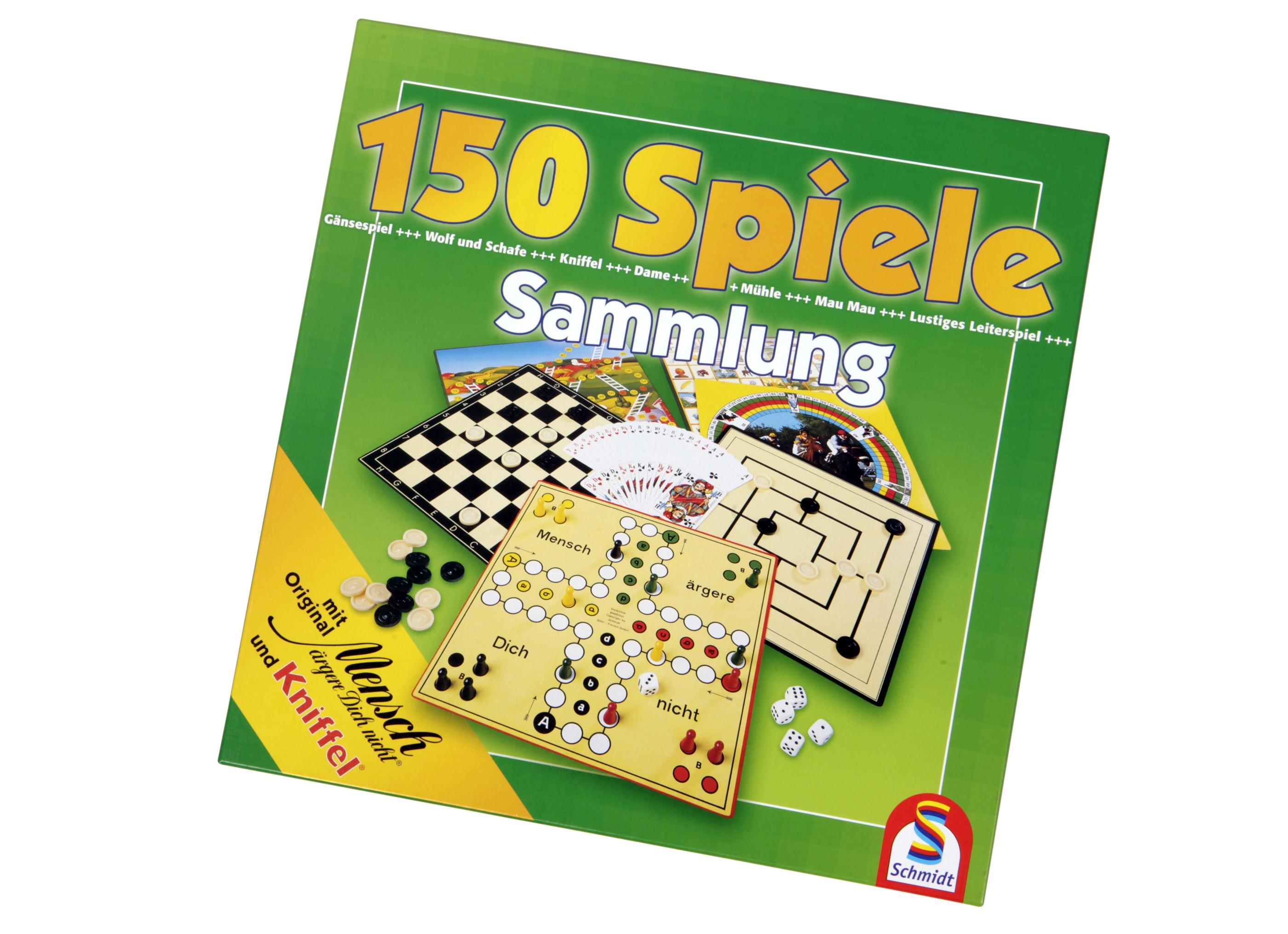 150 Spielesammlung Schmidt
