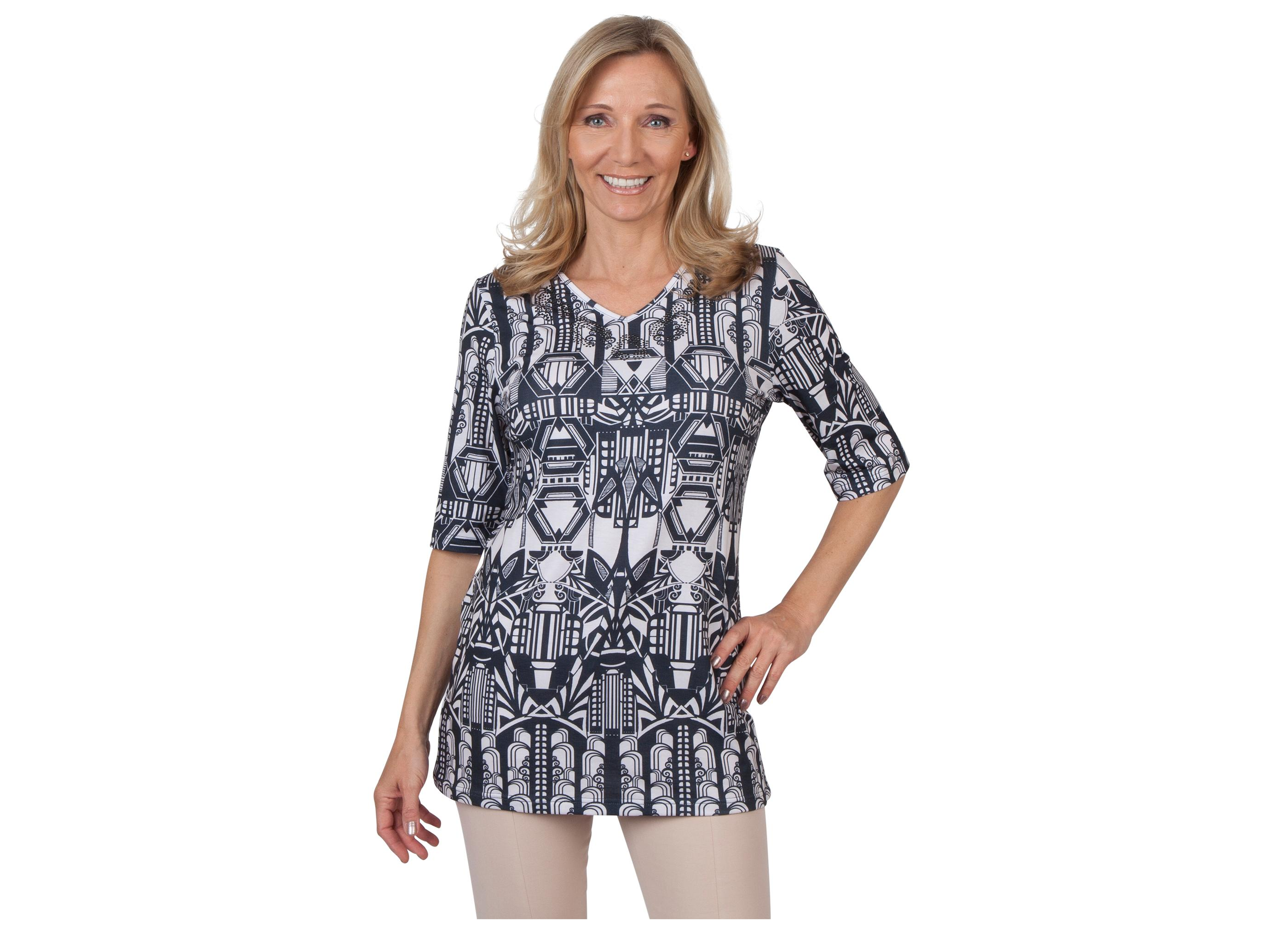 sassi fashion damen longshirt shirts. Black Bedroom Furniture Sets. Home Design Ideas