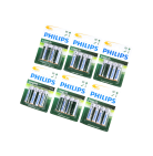 24x Philips AA Batterie