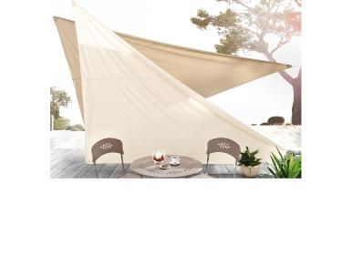 sonnensegel beige m bel. Black Bedroom Furniture Sets. Home Design Ideas