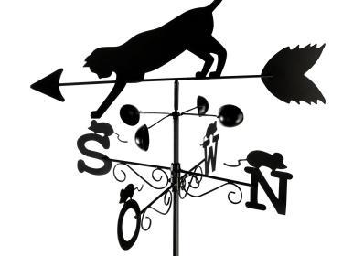 WENKO Wetterfahne Katze