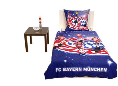 fc bayern bettw sche 2tlg. Black Bedroom Furniture Sets. Home Design Ideas