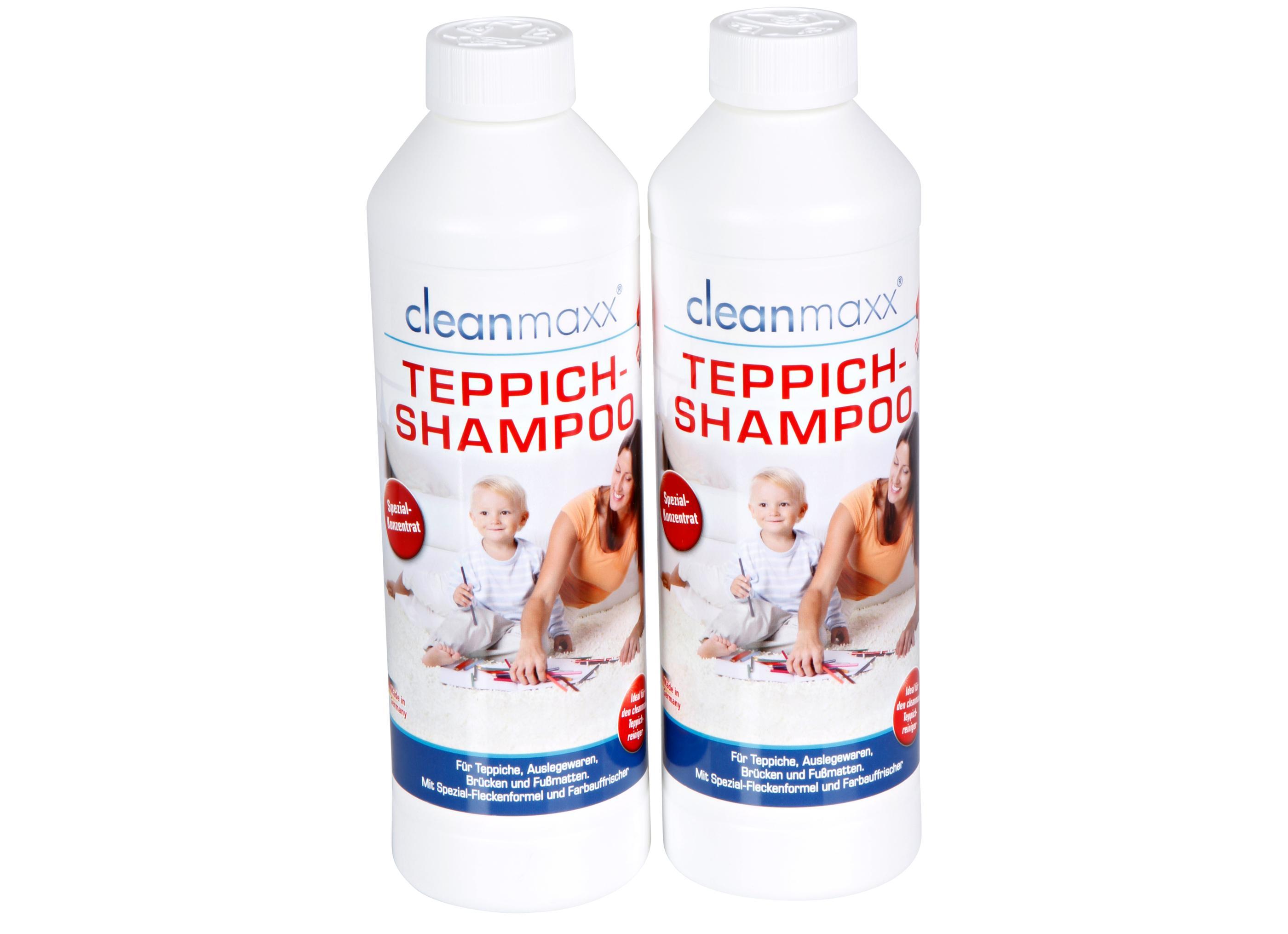 cleanmaxx TeppichShampoo  Reinigungsmittel