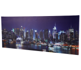 LED Bild Skyline
