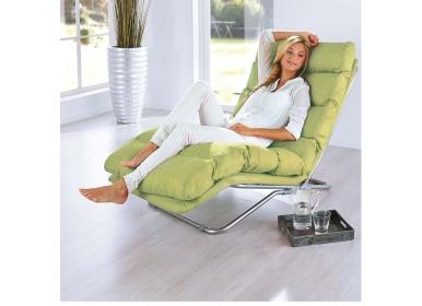 relaxliege easy gr n polsterm bel. Black Bedroom Furniture Sets. Home Design Ideas