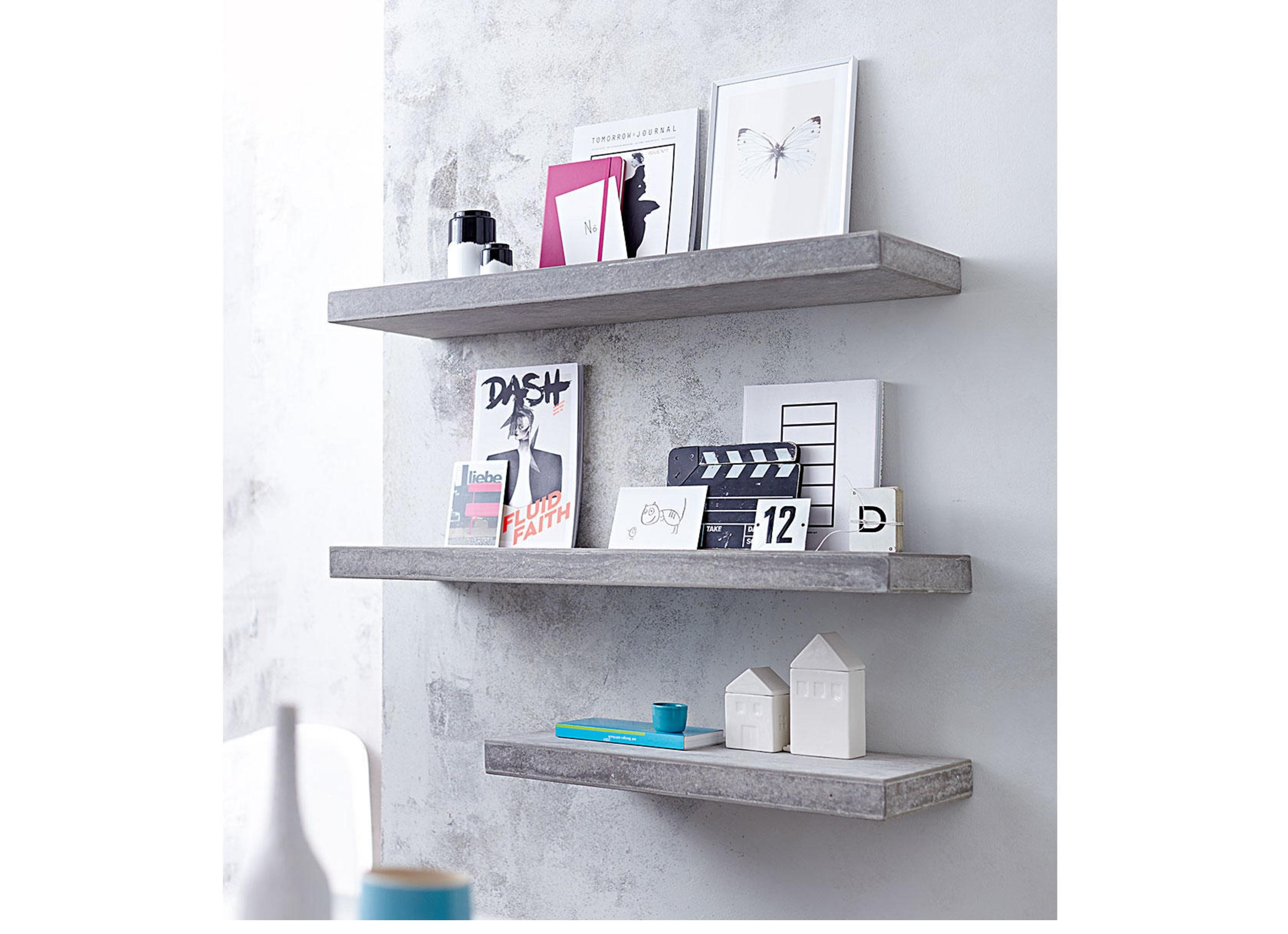 wandregal grau kleinm bel. Black Bedroom Furniture Sets. Home Design Ideas