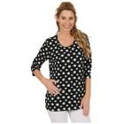 RÖSSLER SELECTION Damen-Shirt  schwarz/weiß 36 - 100001700001 - 1 - 140px