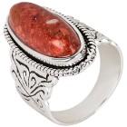 Ring 925 St. Silber Schaumkoralle rekonstruiert 17 - 100035500001 - 1 - 140px