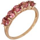 Ring 375 Gelbgold Pink Turmalin 18 - 100047100002 - 1 - 140px