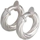 Creolen mit Clip, 950 Silber - 100060000000 - 1 - 140px