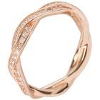Ring 930 Silber rosévergoldet Zirkonia 18 - 100063200001 - 1 - 140px