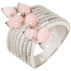 Ring 925 Sterling Silber rhodiniert Opal pink 21 - 100065000005 - 1 - 140px
