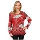 Damen-Pullover 'Salamanca' rot/grau   - 100164500000 - 1 - 140px