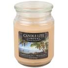 """Candle-Lite Duftkerze """"Kokosnuss"""", hellbraun - 100203000000 - 1 - 140px"""