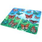 WENKO Abdeckplatte Schmetterling, 2er Set - 100206800000 - 1 - 140px