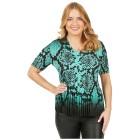 Jeannie Plissee-Shirt 'Madrid' mint - 100228200000 - 1 - 140px