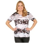 Jeannie Plissee-Shirt 'Sevilla' multicolor