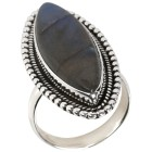 Ring 925 Sterling Silber Labradorit 21 - 100242300005 - 1 - 140px