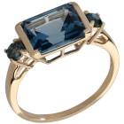 Ring 375 GG London Blue Topas behandelt 21 - 100304500004 - 1 - 140px