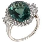 Ring 925 Sterling Silber Flourit, Zirkon 18 - 100304900001 - 1 - 140px