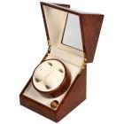"""2er Uhrenbeweger """"Kubus"""", Hickory/beige - 100316900000 - 1 - 140px"""