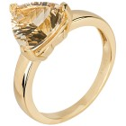 Ring 925 St. Silber vergoldet Champagner Quarz 17 - 100324700001 - 1 - 140px