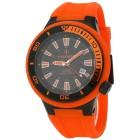 POSEIDON Herrenuhr schwarz/orange - 100357500000 - 1 - 140px