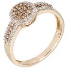 Ring 585 Gelbgold Diamant 18 - 100363500001 - 1 - 140px
