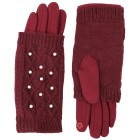 TOP FASHION Handschuhe bordeaux Perlen one size - 100424000000 - 1 - 140px