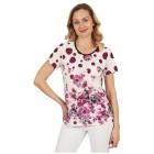 Damen-Shirt 'Rosewood' multicolor 38/40   (M/L) - 100485200001 - 1 - 140px