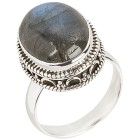 Ring 925 Sterling Silber, Labradorit 18 - 100531300001 - 1 - 140px