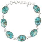 Armband 925 Sterling Silber Türkis stabilisiert - 100538400000 - 1 - 140px