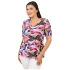 Jeannie Plissee-Shirt 'Ella' multicolor (36-48) - 100595600000 - 1 - 140px