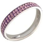 Ring Edelstahl Swarovski Elements 18 - 100615400002 - 1 - 140px