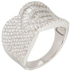 Ring 925 St. Silber rhodiniert Zirkonia 20 - 100617900003 - 1 - 140px