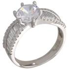 Ring 925 Silber rhodiniert Zirkonia   - 100621500000 - 1 - 140px