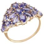 Ring 375 Gelbgold AA Tansanit
