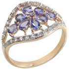 Ring 375 Gelbgold AA Tansanit 18 - 100666900001 - 1 - 140px