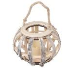 Birkenlaterne mit LED-Kerze - 100701900000 - 1 - 140px