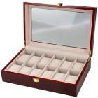 Uhrenbox für 12 Uhren, Mahagoniholz-Optik - 100702500000 - 1 - 140px
