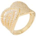 Ring 925 Sterling Silber vergoldet, Zirkonia 21 - 100735700004 - 1 - 140px