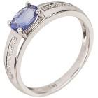 Ring 950 Platin AAATansanit mit Brillanten   - 100768700000 - 1 - 140px