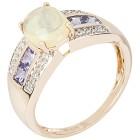 Ring 375 Gelbgold Äthiopischer Opal 19 - 100839100002 - 1 - 140px