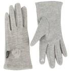 Damenhandschuhe Chenille hellgrau - 100860600000 - 1 - 140px