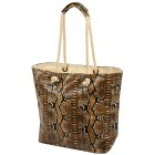 mocca by Jutta Leibfried Shopper Python braun
