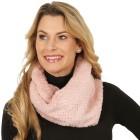 Damen Rundschal Metallic Dots rose - 100864000000 - 1 - 140px