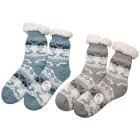 Home Shoes 2er Set Hirsch iceblau hellgrau - 100865100000 - 1 - 140px