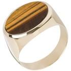 Ring 585 Gelbgold, Tigerauge 19 - 100875600001 - 1 - 140px