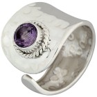 Ring 925 Sterling Silber Amethyst 17 - 100886500001 - 1 - 140px