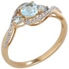 Ring 375 Gelbgold Aquamarin 16 - 100888500001 - 1 - 140px
